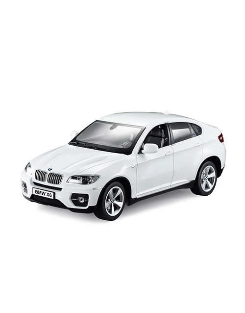 Wireless Connected BMW X6 Blanc iCess