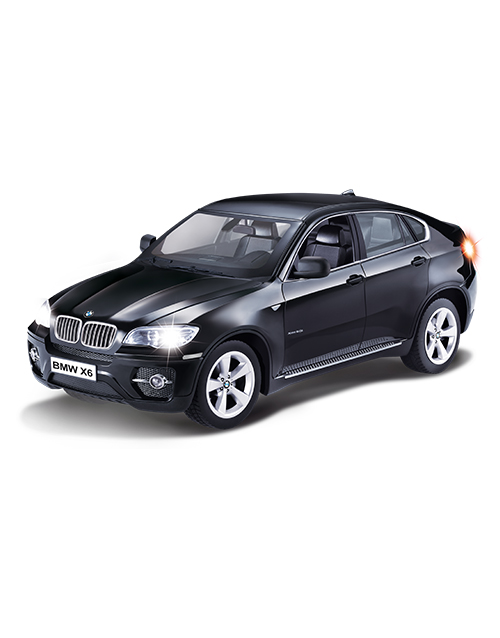 Wireless Connected BMW X6 Noir iCess