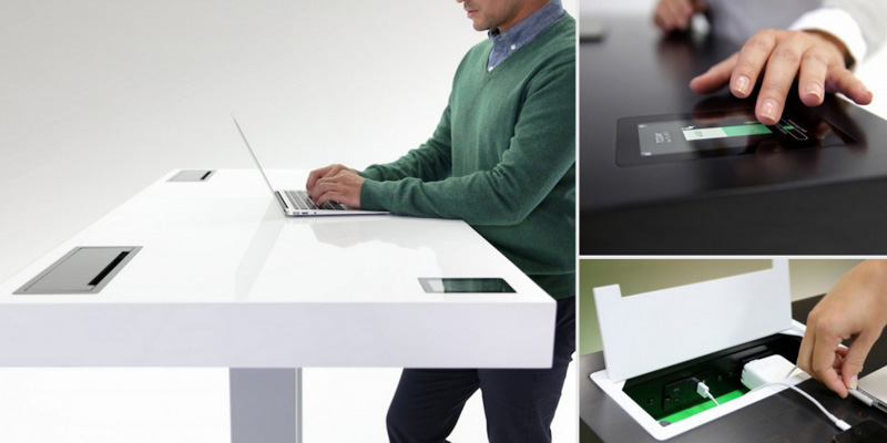 Stir Kinetic Desk, le bureau connecté
